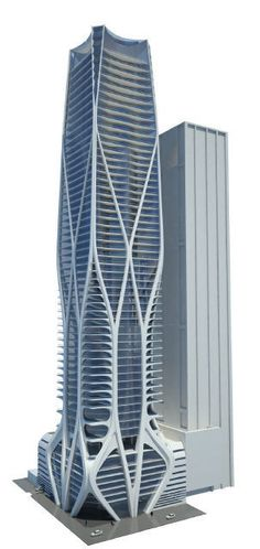 Hadid condo could reshape downtown Miami skyline. One Thousand Museum #miami #architecture