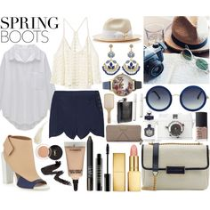 Sping Boots! xxx by agg1994 on Polyvore featuring polyvore fashion style Victoria's Secret Rachel Comey Vince MARC BY MARC JACOBS Olivia Burton Kendra Scott The Row Tory Burch AERIN MAC Cosmetics Lord & Berry Yves Saint Laurent NARS Cosmetics Kevyn Aucoin PENHALIGON'S Philip Kingsley Lomography Urban Outfitters MAKE UP FOR EVER