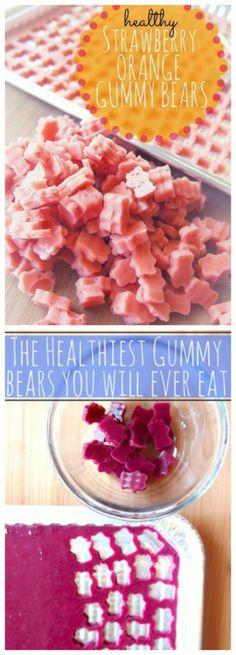 Healthy Homemade Gummy Bears!