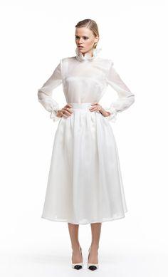 white silk blouse - Google Search