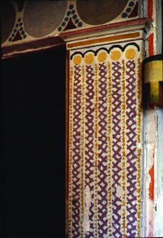Fireplace Vanessa Bell, Charleston Style, Charleston Homes, Color Inspiration, Interior Inspiration, Virginia Woolf, Duncan Grant, Bloomsbury Group, East Sussex
