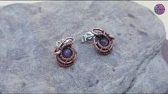 Wirework Stud Earrings