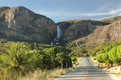 Waterfall Fraga - Chapada Diamantina - Bahia----- Photo: Michael Strugale