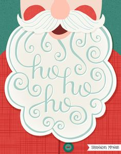Combine lettering with a graphic illustration Christmas Design, Christmas Art, Vintage Christmas, Christmas Holidays, Christmas Decorations, Christmas Posters, Christmas Graphics, Print Patterns, Pattern Print