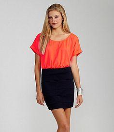 GB 2Fer Dress #Dillards. Love this!!