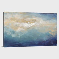 Sun Soaked Sea - Canvas Print