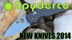 Spyderco New Knives 2014 - Checkout all the New 2014 Spyderco Knives... http://www.osograndeknives.com/store/catalog/m-spyderco-knives-266-1.html