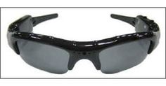 Camcorder Sunglasses-- Great for sporting events .. or for Peeping Toms!  Creepy or cool- What do you think?
