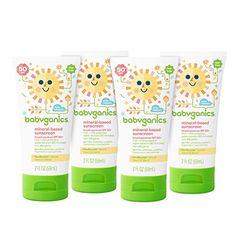 Babyganics Mineral-Based Sunscreen SPF 50, 6 oz, Packaging May Vary //Price: $15.96 & FREE Shipping //     #hashtag1