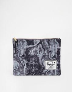 Herschel Supply Co Clutch Bag in Swirl Print