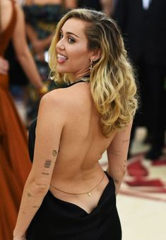 Miley cyrus hairy arms