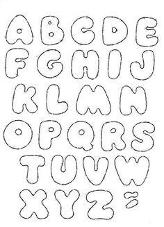 As Letras Abaixo Sao Otimas Para Confeccionar Os Cartazes Da Classe Montar O Alfabeto