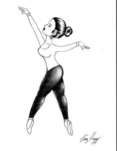 bailarina grafite