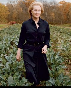 Meryl Streep - Photographed by Annie Leibovitz, Vogue, December 2011