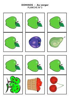 Planche 3 - Dominos du verger