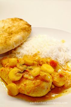 Hähnchen Curry mit ganzen Hähnchenbrustfilets