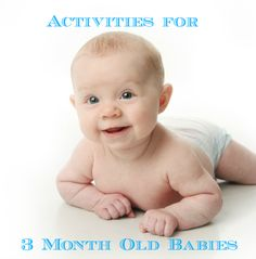 Give baby the best start! These playful and sweet learning activities for 3 month old babies are brilliant! Gross motor, fine motor, and social and emotional too. Great games to play with a baby! Infant Activities, Learning Activities, Activities For Kids, 3 Month Old Activities Baby, Infant Games, Toddler Play, Baby Play, 3 Month Old Baby, Cool Baby Stuff
