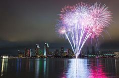 The best places to spend 4th of July in America - San Diego, California