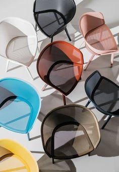 Kettal | Stampa | Design Ronan & Erwan Bouroullec #transparency #colours