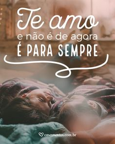 Todo fim de semana, frases novas e cheias de amor para você compartilhar com aquela pessoa especial!  #casamentoscombr #casamentos #casamentosbrasil #wedding #bride #noivas #frasesdeamor #lovequotes #amor #frasesromanticas Am In Love, True Love, I Love You, Phrase Tattoos, Frases Love, Family Holiday Destinations, Couple Wallpaper, Hello Kitty Wallpaper, Love Phrases