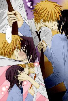 Usui and Misaki kiss by LNK-Uzumaki.deviantart.com on @deviantART