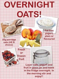 slimming world slimming world breakfast and overnight oats on pinterest #HealthyWedding #FoodSlimmingWorld