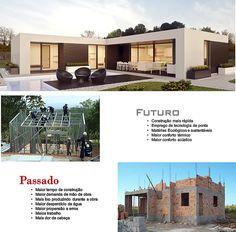Construtora em Ilha Bela, Ubatuba e Caraguatatuba | Casas Pre Fabricadas | Brasil | Casas Pré Fabricas em Stell Frame
