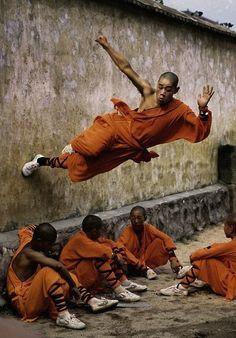 monks are crazy O_O
