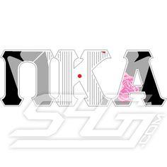 Pi Kappa Alpha Tuxedo Letters Patch  Item Id: P_PKA_TUXLETTERS  Price:  $90.00