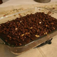 Karen A's Chocolate Dump Cake~This one seems a lot more chocolatey!