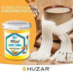 -30ml Rumu Kokosowego -1 kubek gorącej wody -1 łyżeczka miodu migdałowego Huzar Całość dokładnie wymieszać.