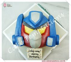 angry bird transformers cake - Google Search