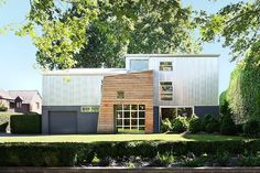 This contemporary single family #house situated in Seattle, Washington, was recently redesigned by SHED Architecture & Design.