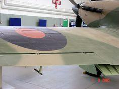 Hurricane wing detail