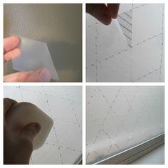 "Classroom DIY: DIY ""Frosted Glass"" Windows"