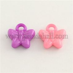 Wholesale Butterfly Acrylic Beads-Colorful Supplies Online - Pandahall.com, P2, 30