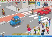 Verkeersborden en -tekens - verkeersplaat - februari 2013
