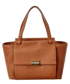 SALVATORE FERRAGAMO Salvatore Ferragamo Bitter Leather Tote'. #salvatoreferragamo #bags #leather #hand bags #tote #lining #