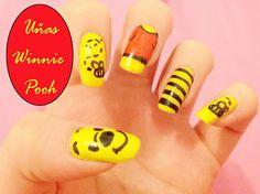 Mi pequeño mundo rosa ♥ Uñas Winnie Pooh ♥