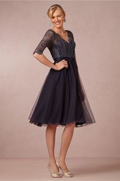 Sapphire Dress from BHLDN:  I think mom would like great in this dress!