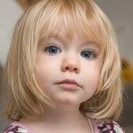 short haircuts for little girls with straight hair
