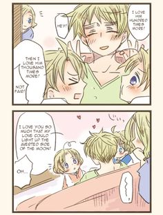 Page 3 of 4 of a FACE family fancomic. Japanese original on Pixiv, translated into English by Hitsu (aka The Lost Sheep)
