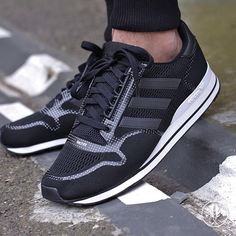 adidas Originals ZX 500 Tech Fit: Core Black