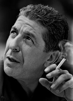 """"""" Leonard Cohen. Gazette photo by Dave Sidaway. """" Photo was taken on July 22, 1988 at the Hotel du Parc in Montreal. From """"Here are two video excerpts from my interview with Elisapie Isaac"""" by..."""