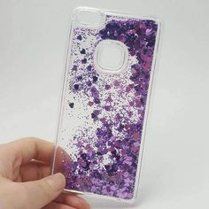 Paillette Glitter Stars Flowing Water Liquid Case For Huawei P8 P9 P10 Lite 2017/Nova Lite 5.2 Clear Soft Tpu Cover Phone Cases