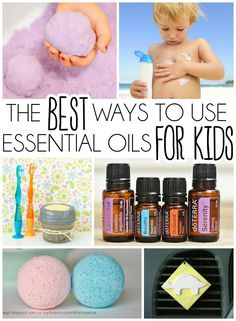 12 great ways to use essential oils with kids