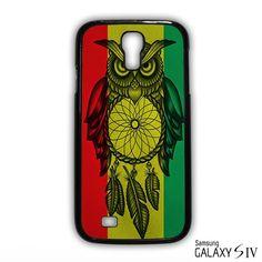 Owl Jamaican Flag for Samsung Galaxy S3/4/5/6/6 Edge/6 Edge Plus phonecases