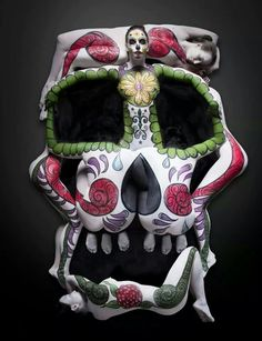 ~ Sugar Skull ~ Body Painting ~