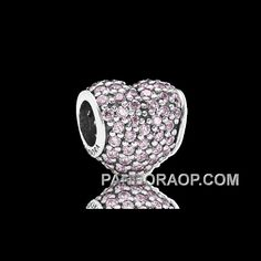 http://www.pandoraop.com/pandora-pink-pave-heart-charm-new-arrival.html PANDORA PINK PAVE HEART CHARM NEW ARRIVAL Only $14.00 , Free Shipping!
