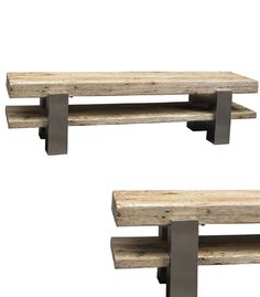 Reclaimed Wood. Eco Friendly Plasma Stand / Media Stand